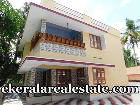 1650 sq ft new individual house sale at Kariyam Sreekariyam