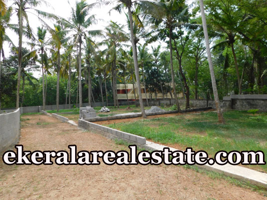 Residential villa plot sale in Powdikonam
