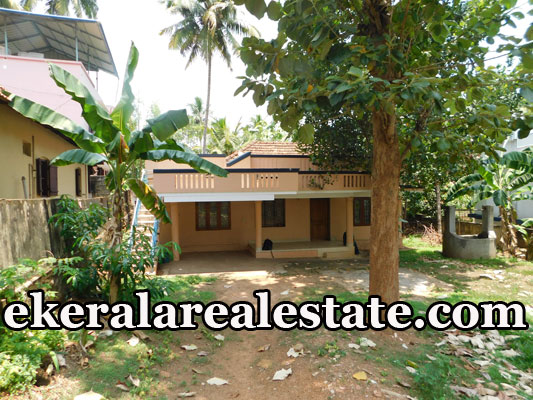 13 cents land and old house sale in Paruthippara