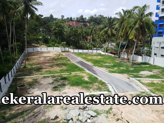 Residential Plots 5 cents sale near Thrippadapuram Trivandrum