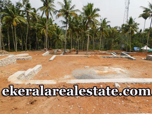 Sreekariyam lorry access villa plot for sale 5 lakhs per cent