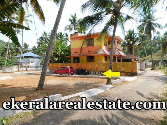 Low budget house plot for sale in Benedict Nagar Nalanchira