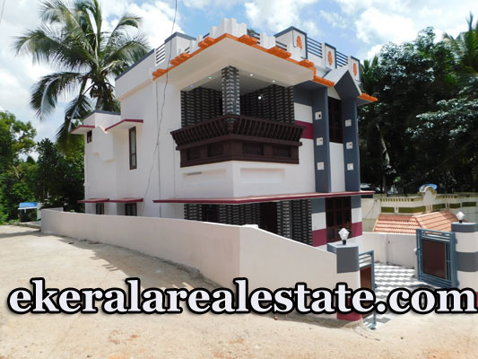 1300 sq ft new budget house for sale at Thachottukavu Trivandrum