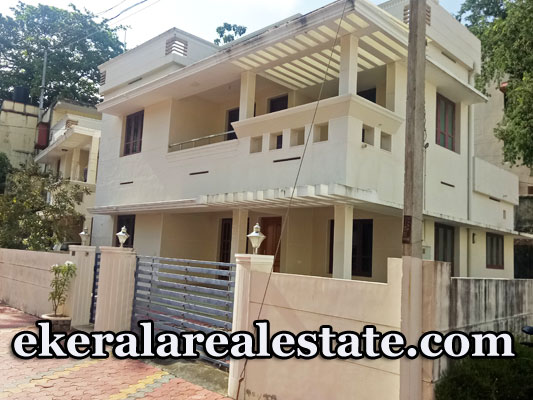 9 cents land and 4 BHK Villa For Sale at Poonkulam Thiruvallam