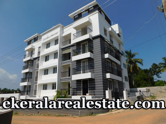 Ready to Occupy 3 BHK New Flats for Sale at Kudappanakunnu