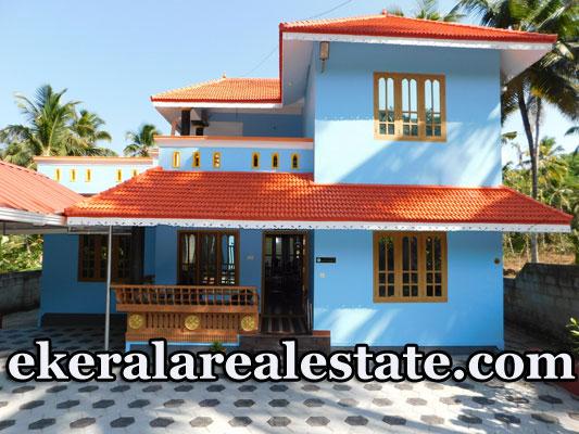 Pallickal Trivandrum 53 Cents land and 1700 sqft house for sale