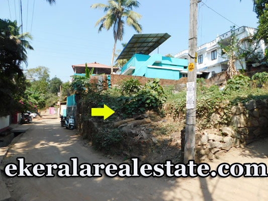 Residential Land For Sale at Poojappura 7.8 lakhs per cent